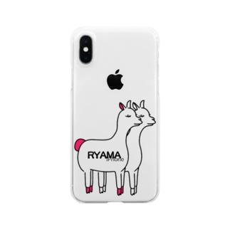 リャマらっしゃい! Clear smartphone cases