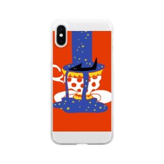 『星空コーヒー』 Clear smartphone cases