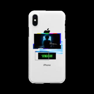 TKCH ONLINE STORAGE B1のX CASE クリアスマートフォンケース
