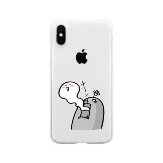 チーン Clear smartphone cases