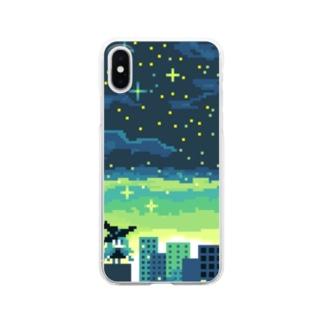 マジョノヨアケ Clear smartphone cases