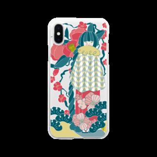 KoNatsuの1月の彼女 Clear smartphone cases