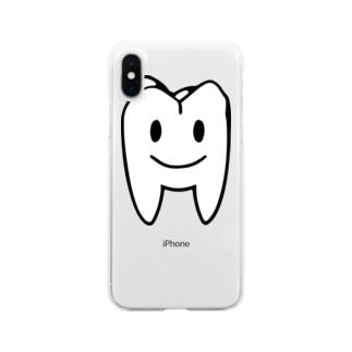 大臼歯くん Clear smartphone cases