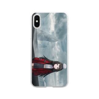黒砂丘 Clear smartphone cases
