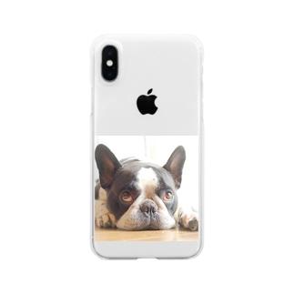 ふれぶるルーくん Clear smartphone cases