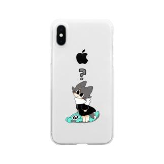 ??アノマロ Clear smartphone cases