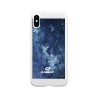 WATER COLOR Clear smartphone cases