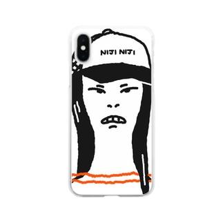 【ISHST】NIJI NIJI Clear smartphone cases