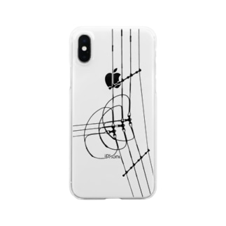 電線3 Clear smartphone cases