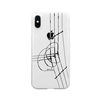 gem's companyの電線3 Clear smartphone cases