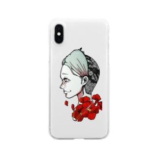 メランコリー Clear smartphone cases