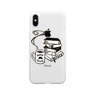 coffee break Clear smartphone cases