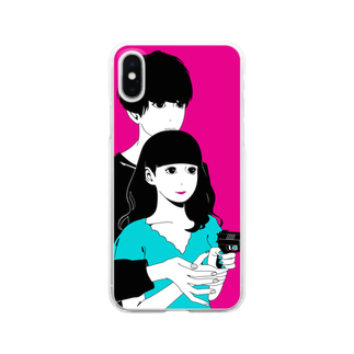hare.のいっしょに○○○ Clear smartphone cases