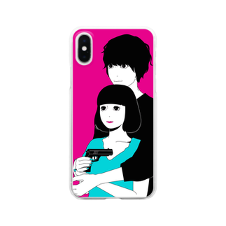 hare.のいっしょに○○ Clear smartphone cases