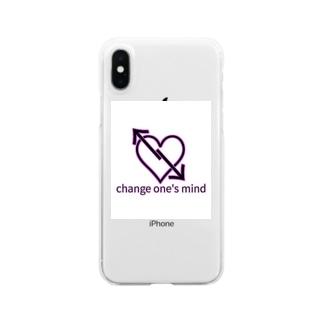 心変わり Clear smartphone cases