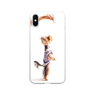わんに Clear smartphone cases