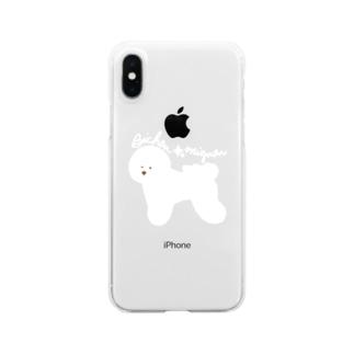 Bichon☆mignon Clear smartphone cases
