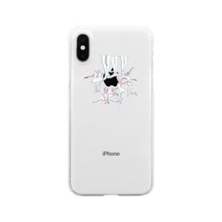 ballet school(おおきなお) Clear smartphone cases