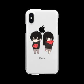 無気力カップルSHOPの無気力カップル Clear smartphone cases