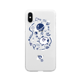SPACEのspace_DARY Clear smartphone cases