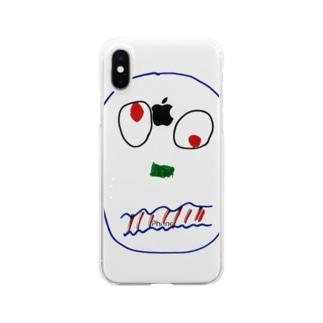 アヘン Clear smartphone cases