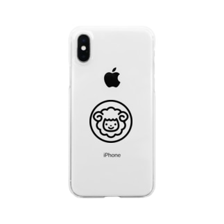 smilesheepグッズ Clear smartphone cases