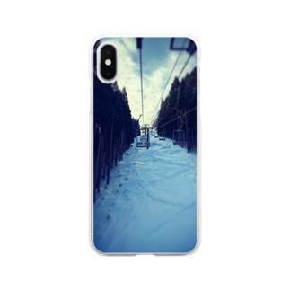 冬山 Clear smartphone cases