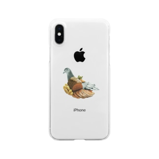 pigeon Clear smartphone cases