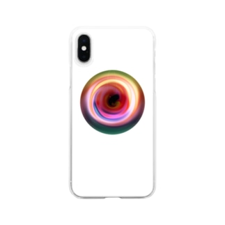 Circle Clear smartphone cases