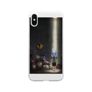 Departure Clear smartphone cases