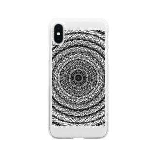 ホワイトアース Clear smartphone cases