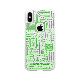 NeoNerdyBoy iPhoneCase Only iPhoneX Desing Clear smartphone cases