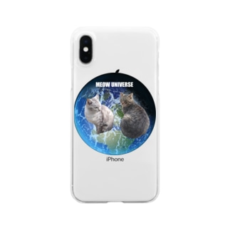 MEOW UNIVERSE Clear smartphone cases