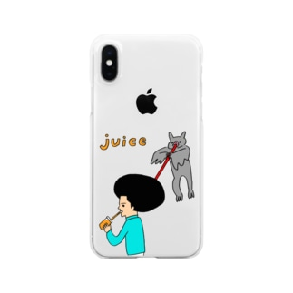 JUICE(ジュース)2 Clear smartphone cases