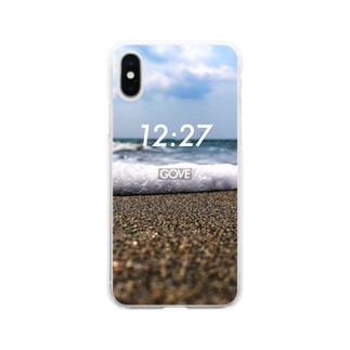 Wave 12:27 Clear smartphone cases