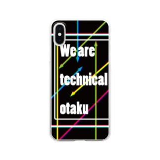 We are technical otaku Clear smartphone cases