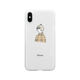 とぷがのiphoneケース Clear smartphone cases