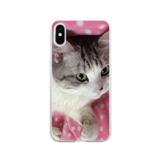 うちのミルクさん。 Clear smartphone cases