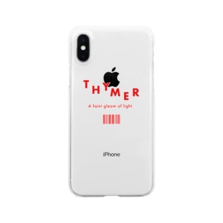 THYMER RED Clear smartphone cases