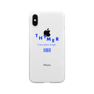 THYMER BLUE Clear smartphone cases