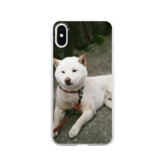 teshima no inu Clear smartphone cases