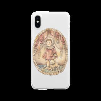 みりんのねむりにつくまでの旅 Clear smartphone cases