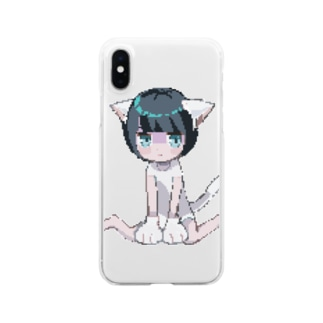 nyan.dot Clear smartphone cases