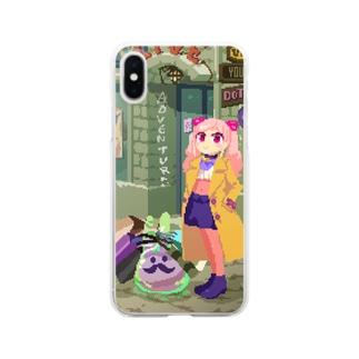 有栖川ドットのショッピング Clear smartphone cases