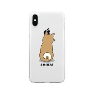 shiba2 Clear smartphone cases