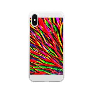 落雷 Clear smartphone cases