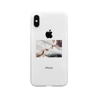 sticker series01 Clear smartphone cases