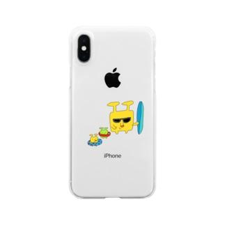 リドさんの海遊び Clear smartphone cases