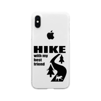 HIKE黒 Clear smartphone cases