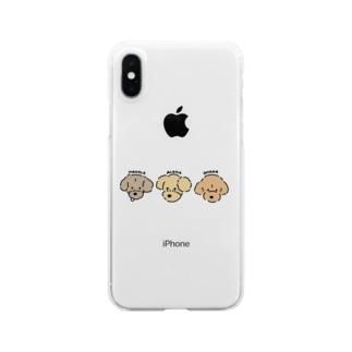 ALOHA / MAHALO / OHANA Clear smartphone cases